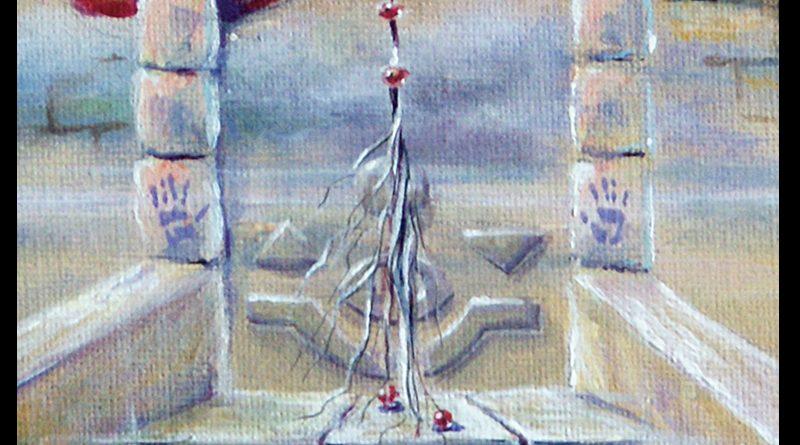 Картина «Двери, которых нет:111» — художник Елена Моргун (Trish)