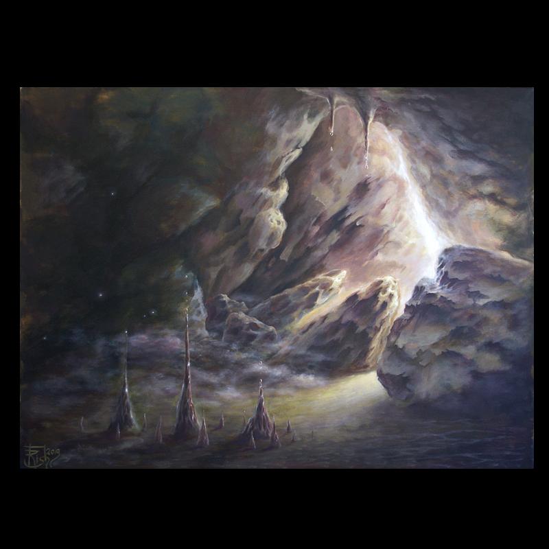 """""""Возвращение. Выход"""" - мистическая картина Елены Моргун"""