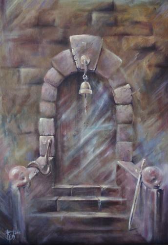 Двери, которых нет: 794 - Тайна - художник Елена Моргун (Trish)