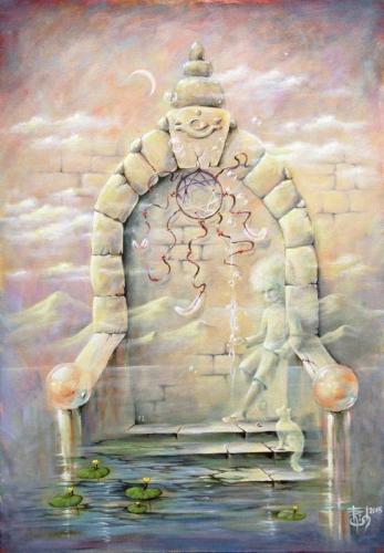 Двери, которых нет: 444 - Проводники Света - художник Елена Моргун (Trish)