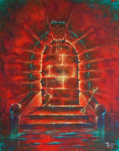 Двери, которых нет: 268 - Ярость - художник Елена Моргун (Trish)