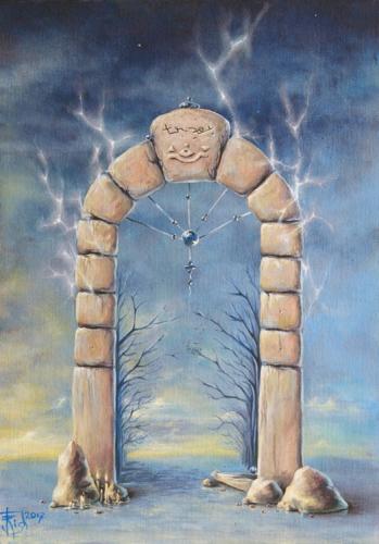Двери, которых нет: 131 - Врата забвения - художник Елена Моргун (Trish)